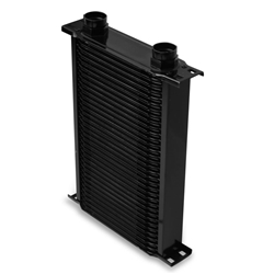 Earls 23400AERL 34 Row Oil Cooler Core, Black