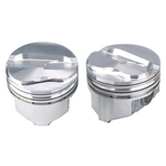 KB Chevy 383 Hypereutectic Pistons, Dish, 5.7 Inch Rod