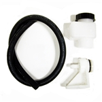 Wilwood 260-10500 Remote Fill Master Cylinder Reservoir Kit