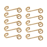 Quarter-Turn Stepped Fastener Springs, .425 Inch, 1-3/8, Set of 10