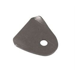 Steel Body Tab, 1/4 Inch Hole, 1.45 L x 1.48 W