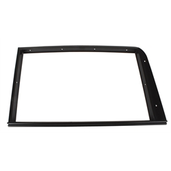 1932 Ford 5-Window Door Garnish Trim Molding, LH Side, Black