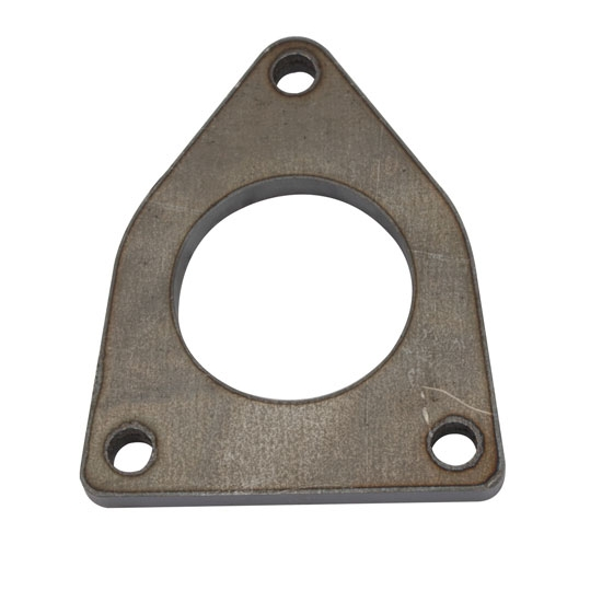 GM 5.3/6.0 Truck Exhaust Flanges, Mild Steel, 2.25 Inch