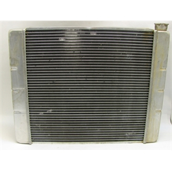 Garage Sale - Speedway Double Pass Aluminum Radiator for Chevy - 24""