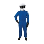 Garage Sale - Sparco Jade One Piece Three Layer Racing Suit, Blue, Size Xl