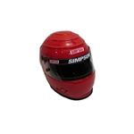 Garage Sale - Simpson Vudu SA10 Racing Helmet, Red, Size 7-1/8