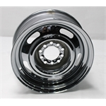 Garage Sale - Speedway GM Style 15 X 6 Inch Rally Wheel, 4.5 & 4.75 Inch Bolt Pattern, Chrome