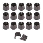 OEM Steel Valve Locks, 11/32 Inch, Set of 32