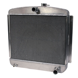 AFCO 1949-54 Chevy Aluminum Radiator, Chevy Engine
