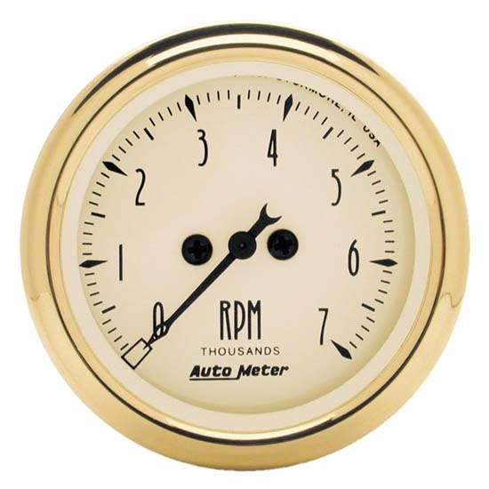 Auto Meter 1594 Golden Oldies Air-Core In-Dash Tachometer Gauge
