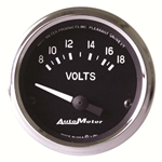 Auto Meter 201009 Cobra Air-Core Voltmeter Gauge, 2-1/16 Inch