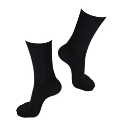 Bell Racing Inner X Carbon Fabric Socks, Black Size Large, SFI 3.3