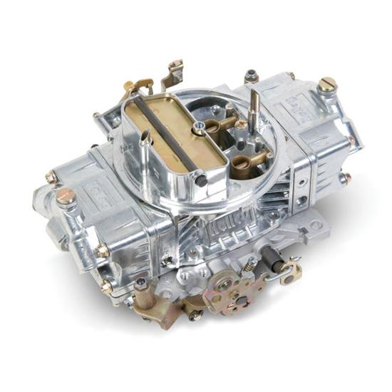 Roots Supercharger Carbs: Holley 0-80592S 600 CFM Supercharger Double Pumper Carburetor