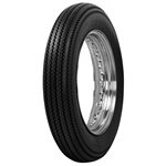 Coker Tire 71308 Firestone Deluxe Cycle Blackwall Tire, 350-18