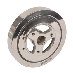 Chevy 350 Harmonic Balancer, 8 Inch, Stainless Steel