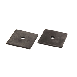 Square Rubber Radiator Mounting Pads