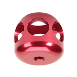 Hi-Tech Aluminum Shift Knob, Red