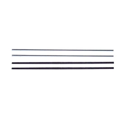 SoffSeal 2245 62-67 Nova Vent Window Division Bar Channel Pair