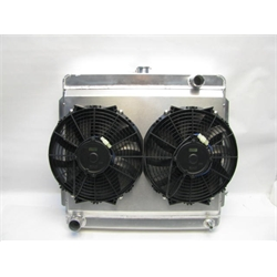 Garage Sale - AFCO Mopar A, B and E Body Radiator With Fan And Shroud