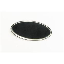 Garage Sale - Stainless Steel Oval Interior Mirror