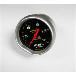 Garage Sale - Auto Meter Liquid Filled Fuel Pressure Gauge, 1-15 psi