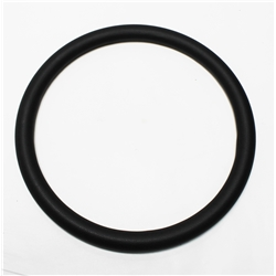 Garage Sale - Black Leather Steering Wheel Wrap
