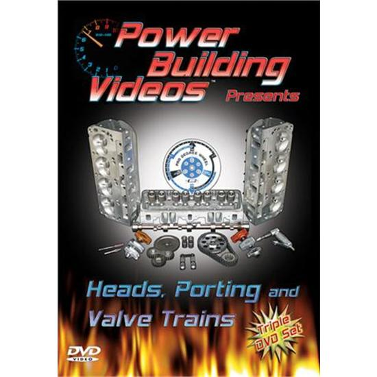 DVD - Power Building Videos, Heads, Porting and Valve Trains, 3 Disc Set