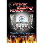 DVD - Power Building Videos, Heads, Porting/Valve Trains, 3 Disc Set