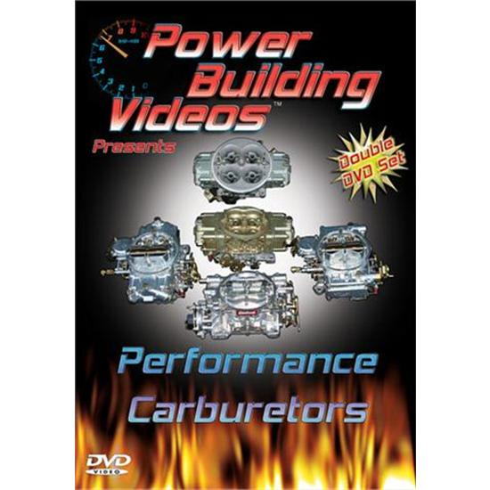 DVD - Power Building Videos, Performance Carburetors, 2 Disc Set