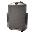 AFCO 1938-45 GM Truck Aluminum Radiator, Chevy Engine