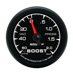 Auto Meter 5903-M ES Mechanical Boost/Vacuum Gauge, 2-1/16 Inch