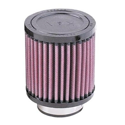 K&N Filters RD-0600 4 Inch Single Stack Injector Air Filter 2-1/4 Inch
