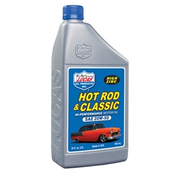Lucas Oil 10689 SAE 20W-50 Hot Rod Engine Oil, 1 Quart