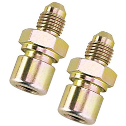 Speedway Steel Straight 3/8-24 IFF to -3 AN Male Adapter Fitting