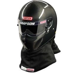 Simpson FIA 8860 X Bandit Pro Carbon Fiber SA2015 Racing Helmet