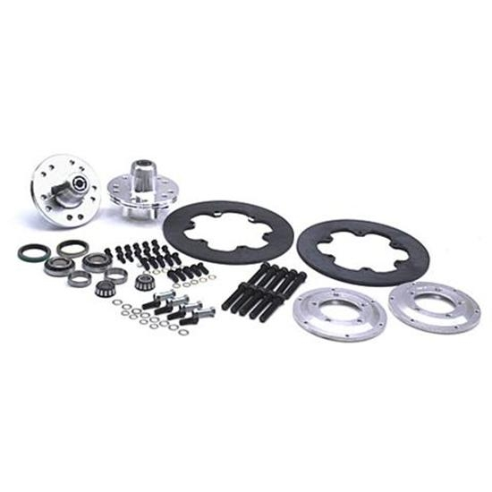 Wilwood Disc Brake Kit for 49-54 Chevy Spindles, 4-Piston, Steel Rotor
