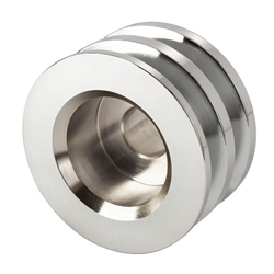 Chrome Dual Goove Alternator Pulley