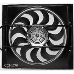 Cooling Components CCI-1770 Cooling Machine Electric Fan, Style 70