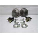 Garage Sale - 9 Inch Ford Bolt-On Rear Disc Brake Kit, With Emergency Brake Calipers
