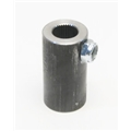 Sweet Mfg. Steering Coupler, 9/16 Inch 26 Spline to 3/4 Inch Round Non-Flex