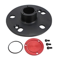 Speedway Steel Drive Flange Kit, 5-on-5 Inch and 4-3/4 Inch