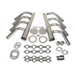 GM LS1 Lake Style Header Kit, 1-5/8 Tube, 4 Inch Cone
