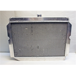 Garage Sale - AFCO Direct Fit '60-'78 Mopar A, E-Body Radiator, 26 x 22 Inch, Pass. Side Inlet