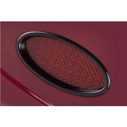 Garage Sale - Lokar XTL-1910 Midnight Series Std Billet Aluminum Oval LED Taillights