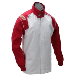 Garage Sale - Speedway Fire Retardent Cotton Racing Jacket, SFI-1, Red, Size XL