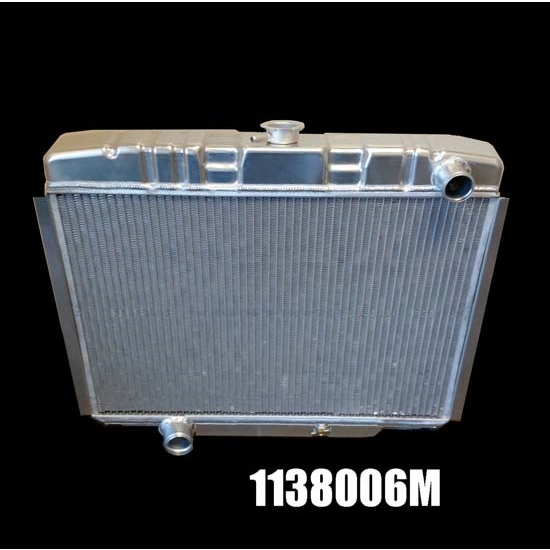 Dewitts 1138006M 1967-70 Mustang Direct Fit Radiator, Manual
