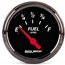 Auto Meter 1417 Designer Black Air-Core Fuel Level Gauge, 2-1/16 Inch