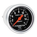 Auto Meter 3344 Sport-Comp Digital Stepper Motor Pyrometer Gauge