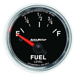 Auto Meter 3813 GS Air-Core Fuel Level Gauge, 2-1/16 Inch