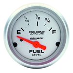 Auto Meter 4316 Ultra-Lite Air-Core Fuel Level Gauge, 2-1/16 Inch